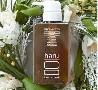 髪で見た目年齢が変わる!haru黒髪スカルプ・プロで頭皮から健康に!